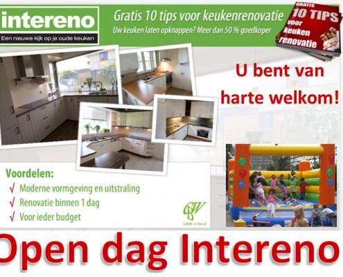 Open dag Intereno keukenrenovatie