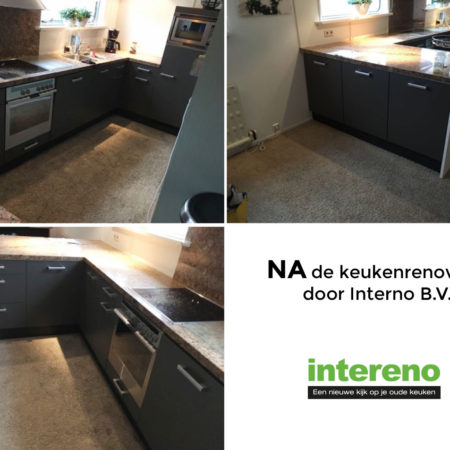 NA keukenrenovatie door intereno